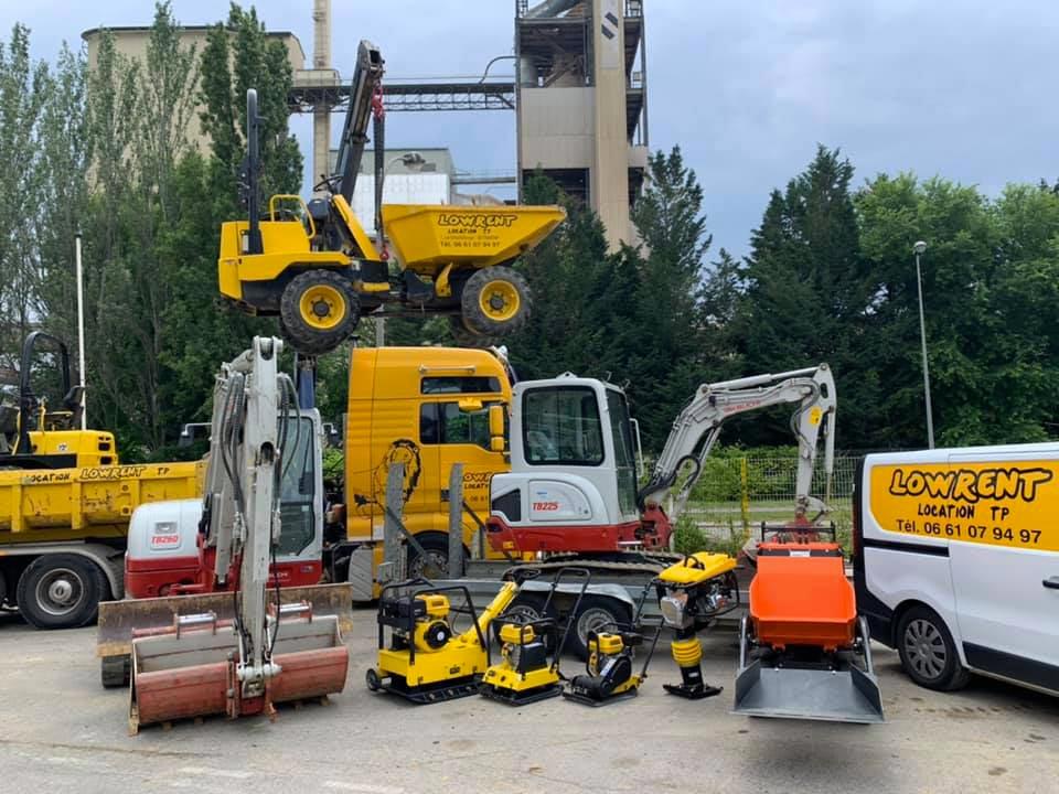 Parc location machines chantier Altkirch