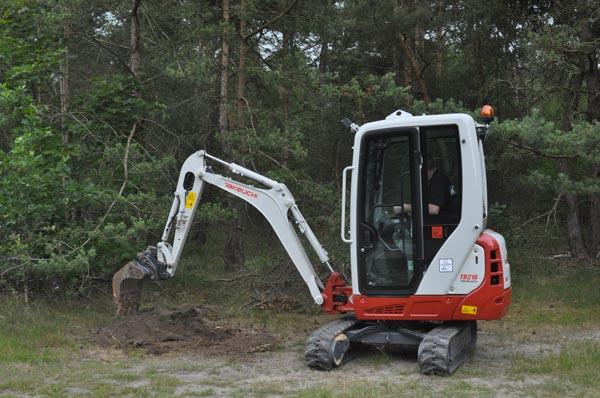 Location mini pelle chantier Colmar