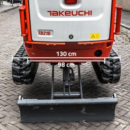 Minigraver Takeuchi TB216